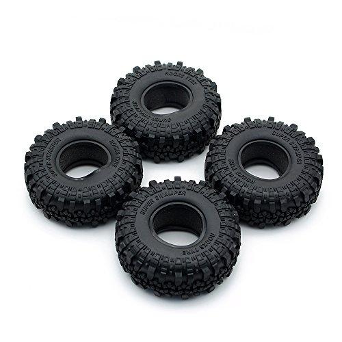 INJORA RC Reifen 4pcs 1,9inch Crawler Reifen für 1:10 RC Rock Crawler Axial SCX10 90046 SCX10 III AXI03007 Tamiya CC01 D90 D110