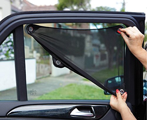 Dreambaby Stretch-To-Fit Adjustable Car Shade (33 x 46cm up to 46 x...
