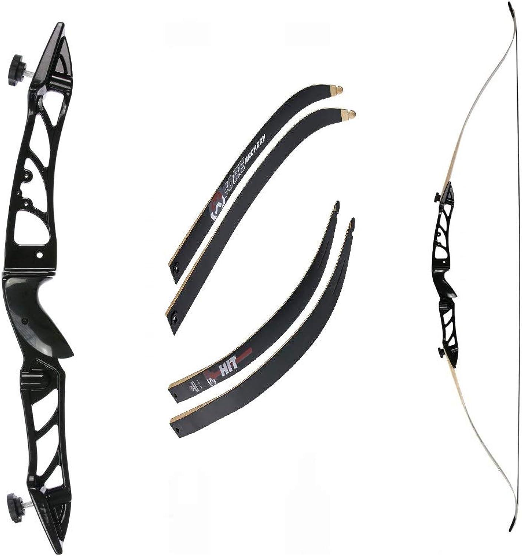 Recurvebogen Core Silhouette Schwarz mit mit mit schwarzen Wurfarmen 70 Zoll 24 lbs B07KJC4X98  Macht das Leben cda875