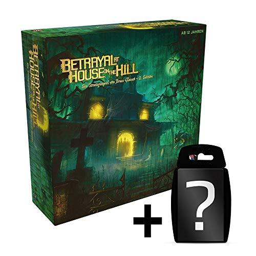 yvolve Betrayal at House on The Hill - Grundspiel - Brettspiel | DEUTSCH | Set inkl. Kartenspiel
