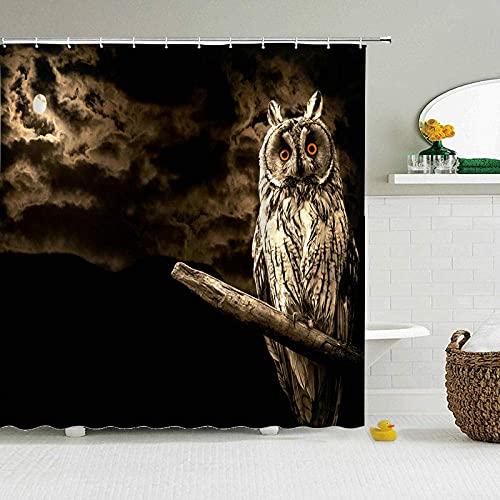 Bathroom Shower Curtain Verschlimmertes Instrument Duschvorhang Stoff Waschbar 3D Digitaldruck Mit 180*200Cm Top Qualität Wasserdicht, Anti-Schimmel-Effekt 3D Digitaldruck Inkl. 12 Duschvorhangr