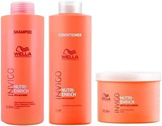 Kit Shampoo Condicionador E Máscara Wella Nutri Enrich Invigo