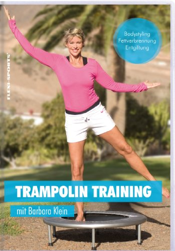 Flexi-Sports Trampolin Training DVD mit Barbara Klein, Laufzeit ca. 70 Minuten