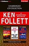 Ken Follett CD Collection: Lie Down with Lions/Eye of the Needle/Triple