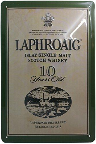 LAPHROAIG Blechschild Whisky | Blechschild Alkohol | Blechschild Bar