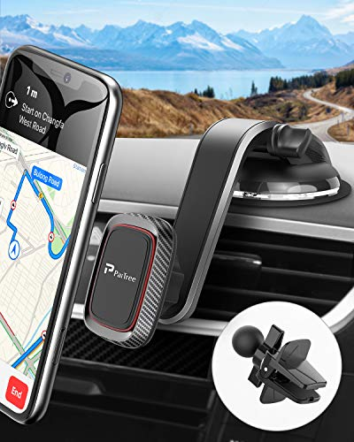 Magnetic Car Phone Mount, PaiTree 2020 Strongest Car Mount for Cell Phone, Universal Cell Phone Holder for Car Dashboard Windshield Compatible with iPhone 11 Pro Max Xr Xs 8 7 6S Note 10 5G Etc