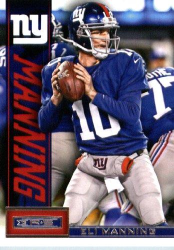 2013 Panini Rookies & Stars Football Card # 65 Eli Manning New York...