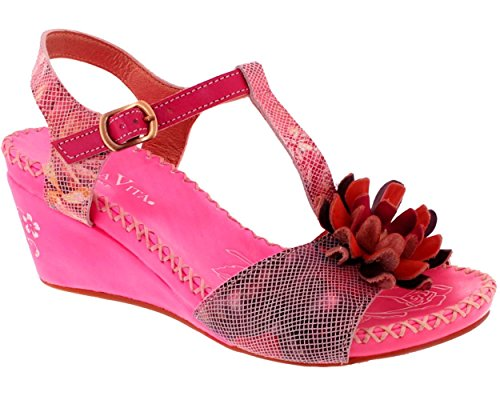 Laura Vita, Sarla SL 140356-3L, Damen, Noppensteg, Rosa, Pink - Rosa - Größe: 39 EU