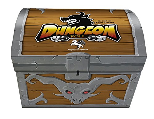 Pegasus Spiele Dungeon Roll, 2. Edition inkl Helden-Booster