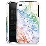 Coque Compatible avec Apple iPhone 3Gs Étui Housse marbre Pâques Printemps