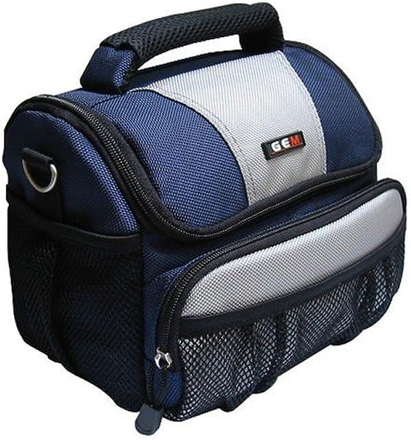 GEM GEM1013PLDMCFZ40FZ45 Caja compacta Gris Negro Azul Estuche para cámara fotográfica - Funda (Caja compacta Panasonic Lumix DMC-FZ40 DMC-FZ45 DMC-FX 700 DMC-GF2 Gris Negro Azul)
