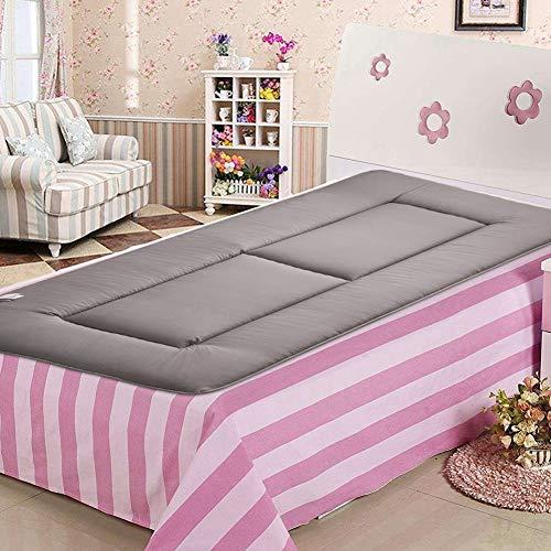 Socobeta Weiche Matte Paketdesign Matratzenzimmer Schlafzimmer für Zuhause(grau, 120 * 200CM)