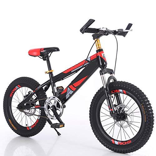 XWDQ Kinderfiets Mountainbike 18/20 Inch Jongen Meisje Primaire School Student 8-10-11-16 Jaar Oude Schijfrem Fiets