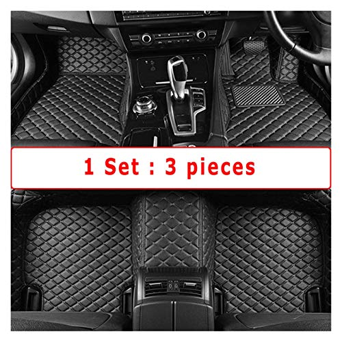 Alfombrillas de coche Colinas de piso de automóviles compatibles con Subaru Forester 2021 2020 2019 Cuero de la alfombra Accesorios para automóviles personalizados Interior delantero y trasero Pad Cue