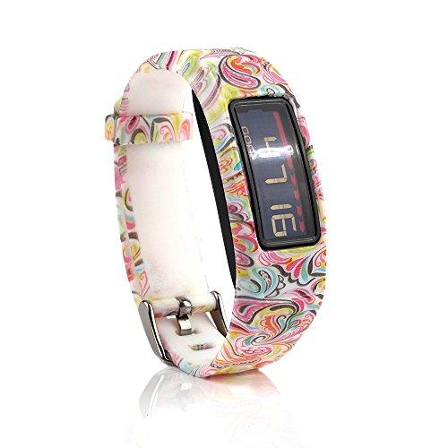 Baaletc Compatible avec Garmin Vivofit 2, Bracelets de Remplacement compatibles avec Garmin Vivofit 2 Vivofit2 Non Compatible avec Vivofit 1/Vivofit 3/Vivofit JR/Garmin Vivofit2.JR, Cachemire