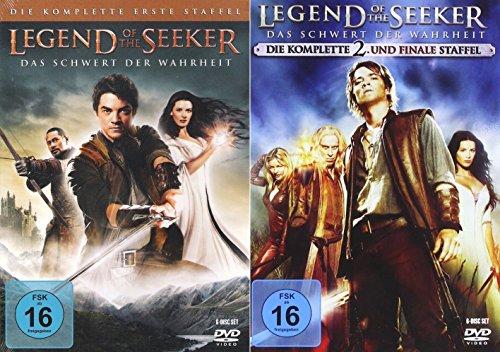 Legend of Seeker - Die komplette 1. - 2. Staffel (12-Disc / 2-Boxen)