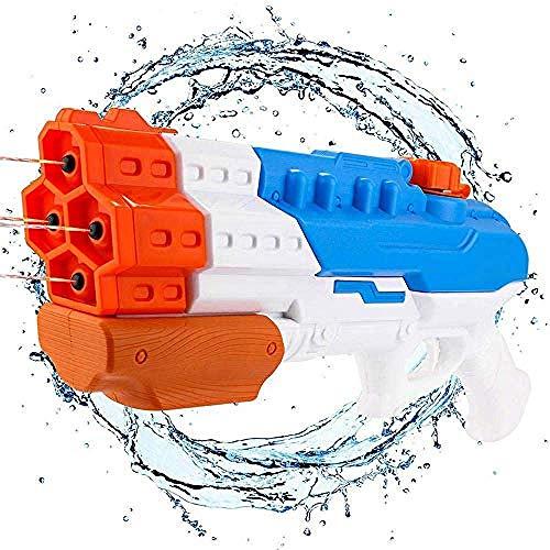 PRWJH Größte Wasserpistole Wasserpistole Sprinkler Wassersprühsprinkler Große Kapazität 1200cc Sprinkler Außenpool Kinderstrandwasser 1200 CC