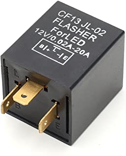 3 PIN Square 12 Volt CF13 Load Resistor Electronic Flasher Relay Fix For LED Turn Signal Light Bulbs