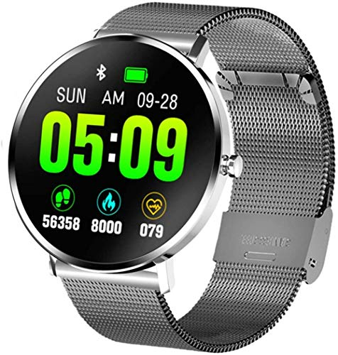 JSL Smartwatch Fitness Tracker Monitor de sueño Rastreador de actividad 1.3 pulgadas Pantalla táctil completa IP68 impermeable Podómetro Smartwatch Step Counter-4