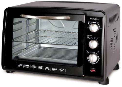 Howell HO.HFLV3826N Da tavolo Elettrico 38L 1600W Non specificato Nero forno