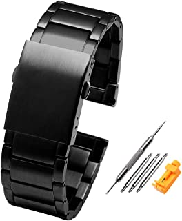 Best stainless steel watch band replacement Reviews