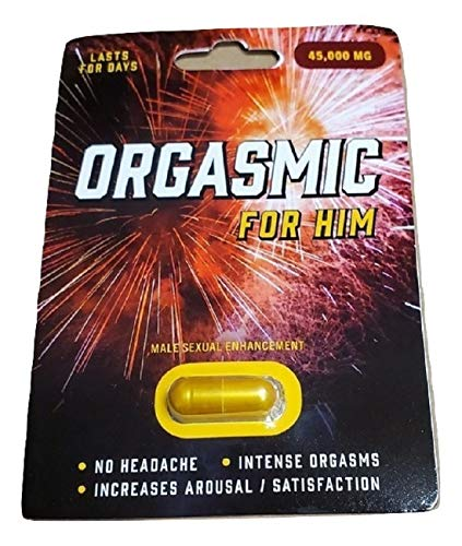Premium ORGASMIC for HIM - Male Enhancement Pills for Men - Excellent Male Enhancement Powerful TIME Size Stamina 45K