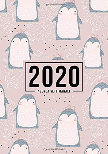 Agenda settimanale 2020: 1 gennaio 2020 al 31 dicembre 2020: Agenda settimanale e mensile, Organizer &…