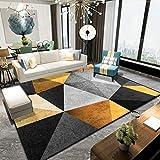 Duan hai rong DHR Tappeti tappeti tappeti poliestere microfibra area tappeti per soggiorno camera da letto tavolino coperta soft touch Vintage Home Decor tappeti (colore: N, dimensioni: 80 x 200 cm)
