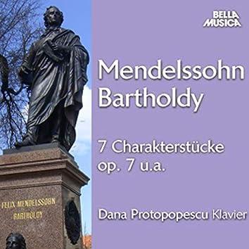 Mendelssohn: Sieben Charakterstücke für Klavier