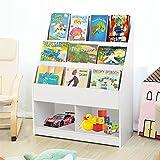 Estantería para libros infantiles, color blanco