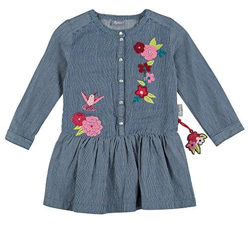 Sigikid Mädchen Jeanskleid, Mini Kleid, Blau (Denim Light Blue 590), 122