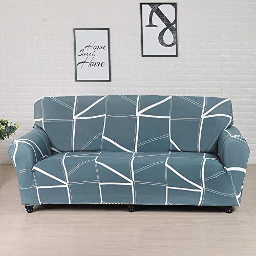 ASCV Fundas elásticas Funda de sofá elástica para Sala de Estar Funda de sofá seccional Funda de sillón en Forma de L A3 2 plazas
