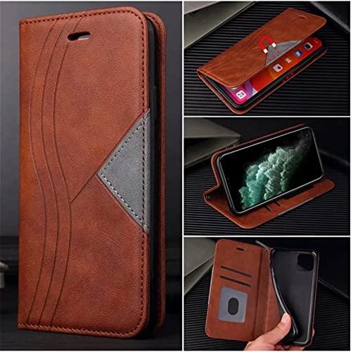 HHF-1 1fortunate Cajas del teléfono para Xiaomi Poco X3 NFC, Funda de Cuero Cubierta de la Billetera para Redmi Note 8T 9 Pro MAX MI 9T 10T Note 10 Ultra (Color : Beige, Material : For Mi 10(Pro))