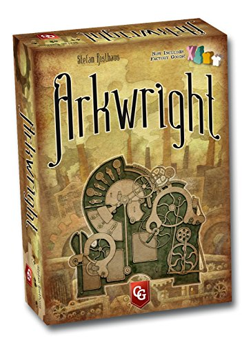 Capstone Games ARK01 - Arkwright 2nd Edition, Englisch, Brettspiel