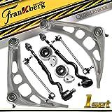 Ensemble de 8 pièces wishbone suspension wishbone avant gauche et bas droit pour E46 E85 E86 Z4 1998-2009 31121094465