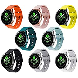 Pack 8 Correas Samsung Galaxy Watch Active 2