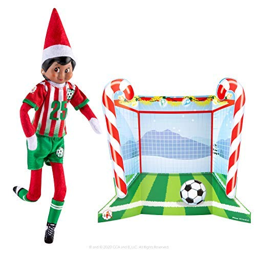 The Elf on the Shelf Claus Couture North Pole Goal & Gear Outfit - A Scout Elf is not included | Elf on the Shelf Clothes | Elf on the Shelf Accessories