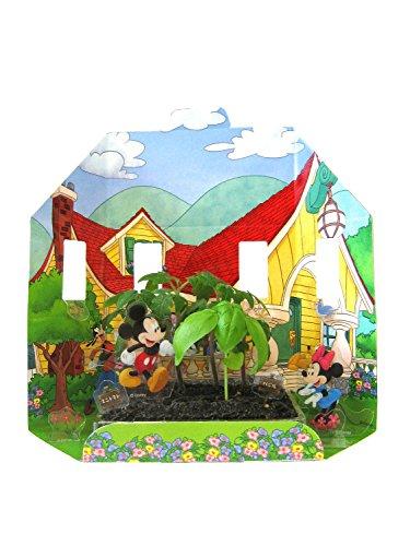 世界でいちばん小さな畑(栽培キット) ディズニー ミッキー&フレンズ(ミニトマト&バジル)