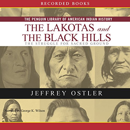 Lakotas and the Black Hills audiobook cover art