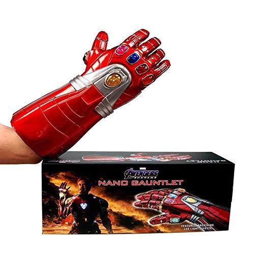 Iron Man 1: 1 volwassen versie Nano Handschoenen Action Figure Model Rol Toys Boxed 40CM 8bayfa (Size : 40CM)