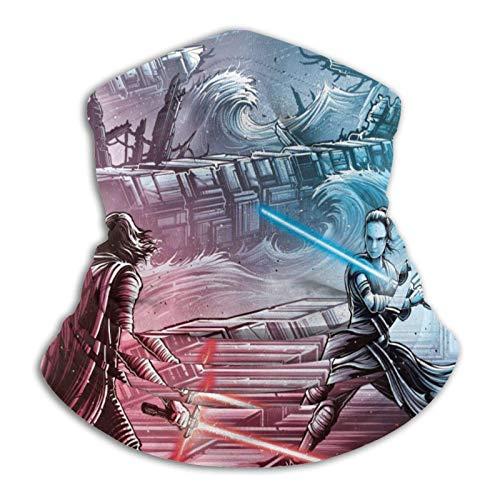 Ives Jean Star Wars - Braga de cuello de microfibra elástica para hombre y mujer, para la cara