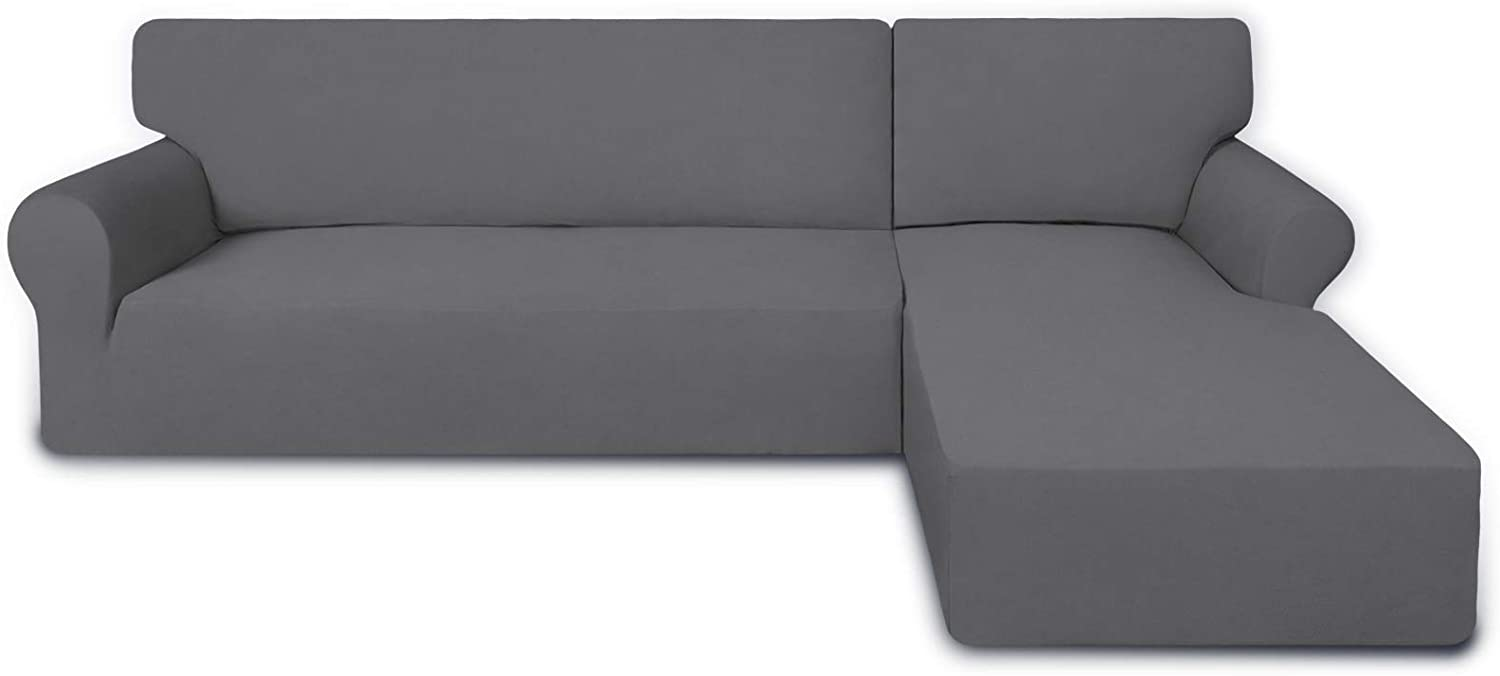 Choice PureFit Super Stretch Sectional Couch Covers pcs Non Ranking TOP5 - Spandex 2