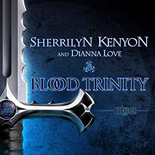 Blood Trinity     The Belador Code, Book 1              By:                                                                                                                                 Sherrilyn Kenyon,                                                                                        Dianna Love                               Narrated by:                                                                                                                                 Christina Traister                      Length: 12 hrs and 35 mins     524 ratings     Overall 4.2