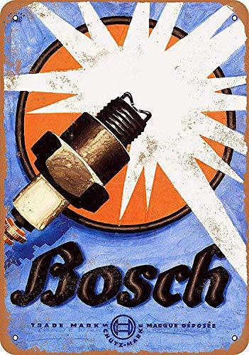 Forry Bosch Spark Plugs Metall Poster Retro Blechschilder Vintage Schild Zum Cafe Bar Garage Wohnzimmer Schlafzimmer Haus Restaurant Hotel
