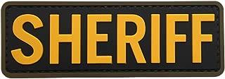 Best pvc sheriff patch Reviews