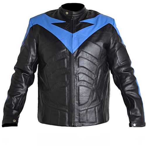 NorthernFinch Nightwing Leather Jacket Faux Black X-Large
