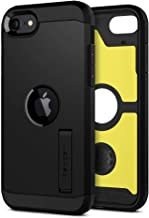 Spigen Tough Armor Designed for iPhone SE 2020 Case - Black