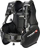 Cressi Solid Dive Center Edition Tauchjackets Gute Tarierung, Schwarz, S