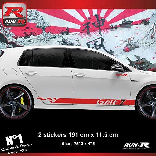 ADNAuto 54299 Sticker Bas de Caisse Volkswagen Golf 7 Aufkleber