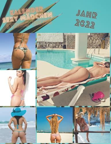 Sexy Mädchen Kalender, String-Bikinis